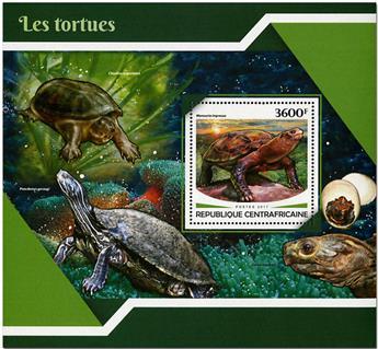 n° 1174 - Timbre CENTRAFRICAINE Blocs et feuillets