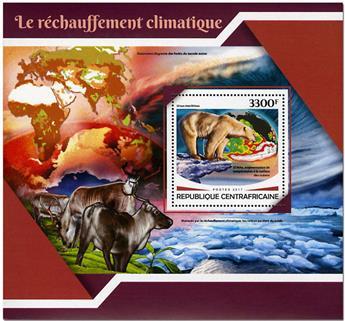n° 1179 - Timbre CENTRAFRICAINE Blocs et feuillets