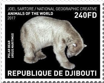 n° 1832/1835 - Timbre DJIBOUTI Poste