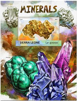 n° 1159 - Timbre SIERRA LEONE Blocs et feuillets