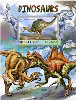 n° 1164 - Timbre SIERRA LEONE Blocs et feuillets