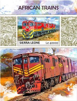 n° 1239 - Timbre SIERRA LEONE Blocs et feuillets