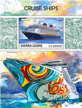 n° 1249 - Timbre SIERRA LEONE Blocs et feuillets