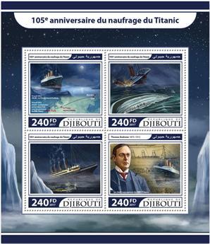 n° 1528/1531 - Timbre DJIBOUTI Poste