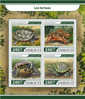 n° 1568/1571 - Timbre DJIBOUTI Poste