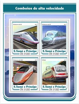 n° 5693/5696 - Timbre SAINT-THOMAS ET PRINCE Poste