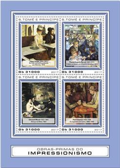 n° 5873/5876 - Timbre SAINT-THOMAS ET PRINCE Poste