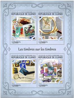 n° 8661/8664 - Timbre GUINÉE Poste