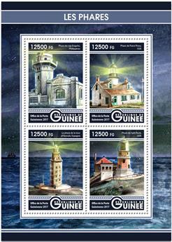 n° 8701/8704 - Timbre GUINÉE Poste
