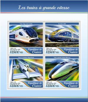 n° 8900/8903 - Timbre GUINÉE Poste