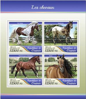 n° 8940/8943 - Timbre GUINÉE Poste
