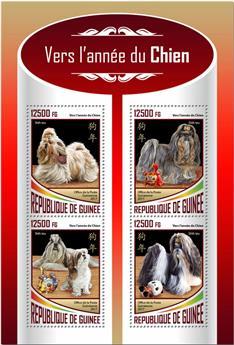 n° 9000/9003 - Timbre GUINÉE Poste