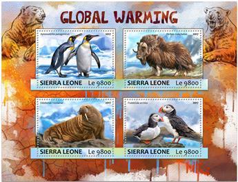 n° 6793/6796 - Timbre SIERRA LEONE Poste