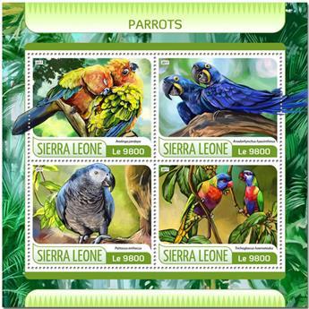 n° 7057/7060 - Timbre SIERRA LEONE Poste