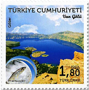 n° 3868/3869 - Timbre TURQUIE Poste