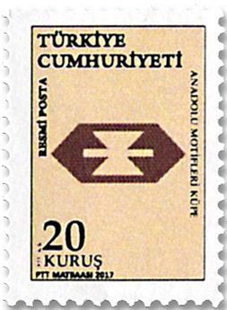 n° 357/365 - Timbre TURQUIE Timbres de service