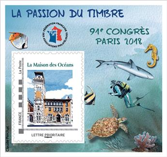 n° 14 - Timbres France FFAP