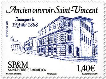 n° 1200 - Timbre Saint-Pierre et Miquelon Poste