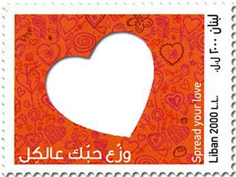 n° 586 - Timbre LIBAN Poste