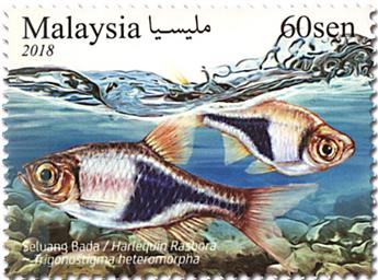n° 1951/1953 - Timbre MALAYSIA Poste