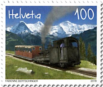 n° 2460/2461 - Timbre SUISSE Poste
