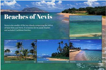n° 2690/2693 - Timbre NEVIS Poste