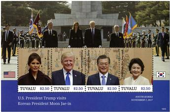 n° 1999/2002 - Timbre TUVALU Poste