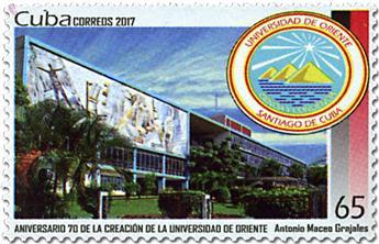 n° 5633 - Timbre CUBA Poste