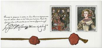n° 142 - Timbre France Blocs souvenirs