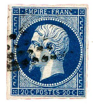n°14Aa obl. TB - Timbre FRANCE Poste