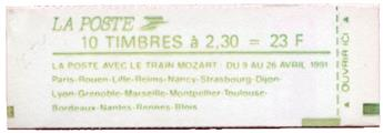 n°2614-C11a** - Timbre FRANCE Carnets