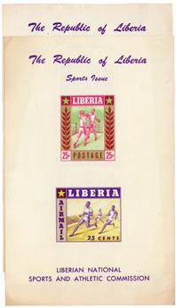 n°7** D + ND - Timbre LIBERIA Blocs et Feuillets
