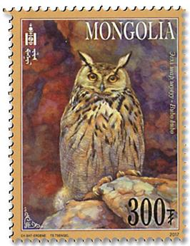 n° 3072/3075 - Timbre MONGOLIE Poste