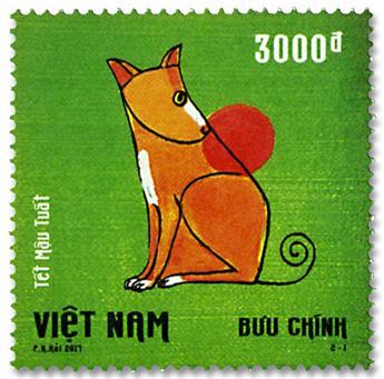 n° 2540/2541 - Timbre VIETNAM Poste