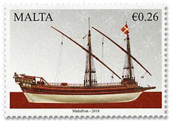 n° 1906/1908 - Timbre MALTE Poste