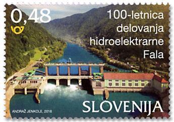 n° 1087 - Timbre SLOVÉNIE Poste
