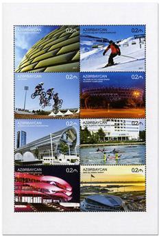 n° 1059/1066 - Timbre AZERBAIDJAN Poste