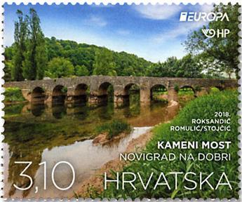 n° 1218/1219 - Timbre CROATIE Poste (EUROPA)