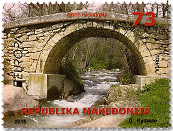n° 799/800 - Timbre MACEDOINE Poste (EUROPA)