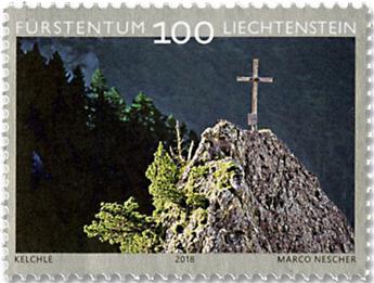 n° 1837 + n° 1838/1840 - Timbre LIECHTENSTEIN Poste