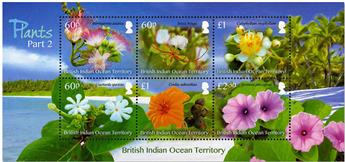 n° 530/535 - Timbre OCEAN INDIEN Poste
