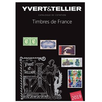 TOME 1 - 2019 (Catalogue des Timbres de France)