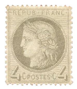 n°52* - Timbre FRANCE Poste