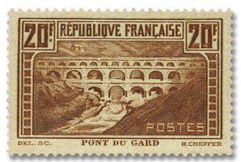 n°262c*  - Timbre FRANCE Poste