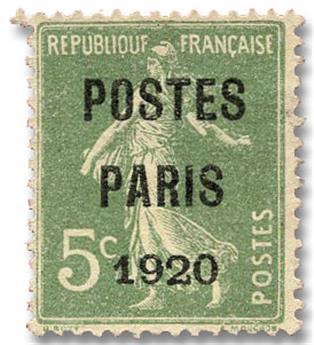 n°24(*) - Timbre FRANCE Préoblitérés