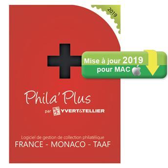 TELECHARGEMENT : Mise à jour PHILA´PLUS Évolutif 2019 FRANCE (MAC)