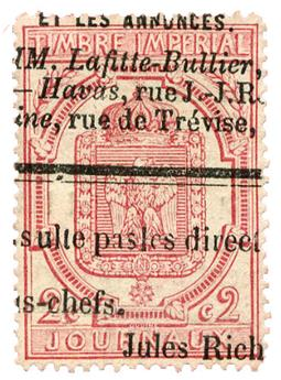 n°9 obl. TB - Timbre FRANCE Journaux