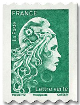 n° 1601/1602 - Timbre France Autoadhésifs