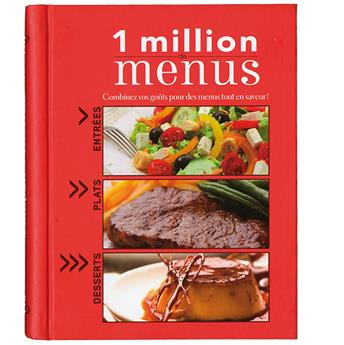 1 MILLION DE MENUS