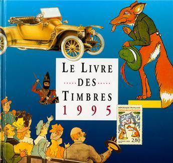 LE LIVRE DES TIMBRE DE L´ANNEE 1995